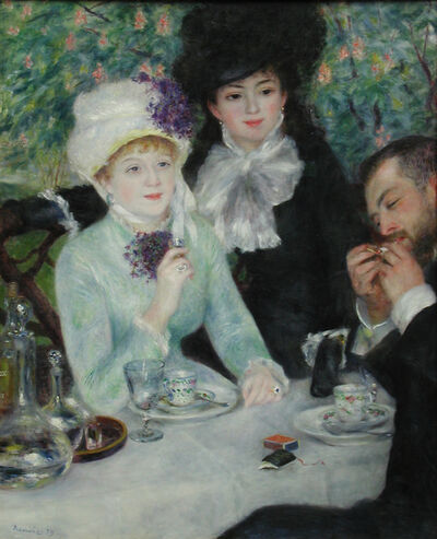 Pierre-Auguste Renoir, 'After the Luncheon (La fin du déjeuner)', 1879