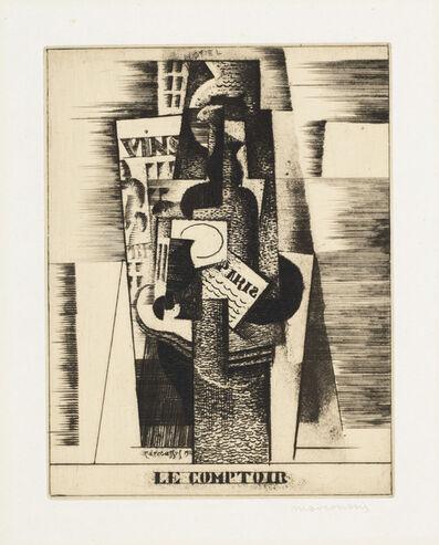 Louis Marcoussis, 'Le Comptoir', 1920
