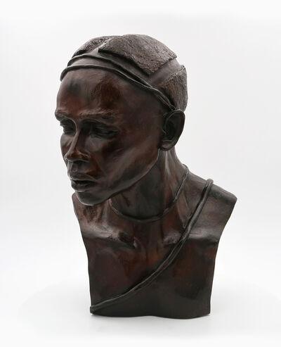 Brijite Bey, 'Man 1 Nuba de Kau', 2012