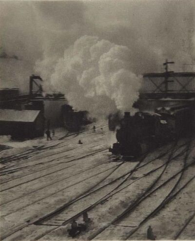 Alfred Stieglitz, 'In New York Central Yards (1903)', 1911