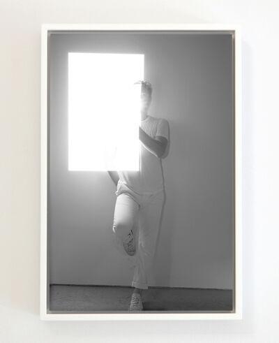 Bryan Graf, 'Reflected Projection (Self Portrait)', 2018