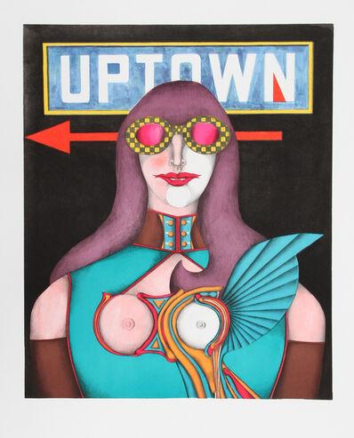 Richard Lindner, 'Uptown', 1969