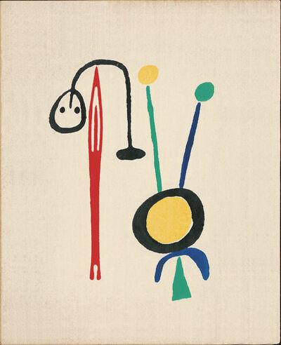 Joan Miró, 'Joao Cabral de Melo / Joan Miró', 1950