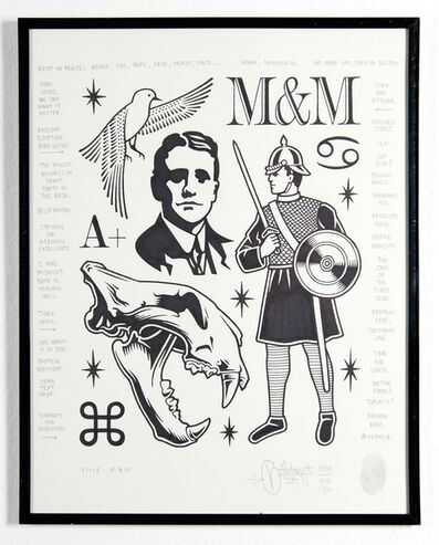 Mike Giant, 'M&M', 2014