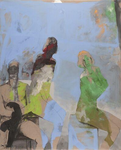 Bahram Hajou, 'Triumvirate', 2019