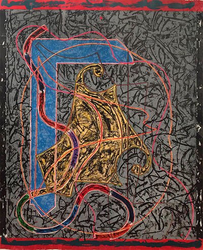 Frank Stella, 'Imola Three II', 1984