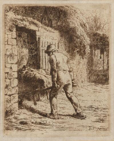 Jean-François Millet, 'Le Paysan rentrant du fumier'