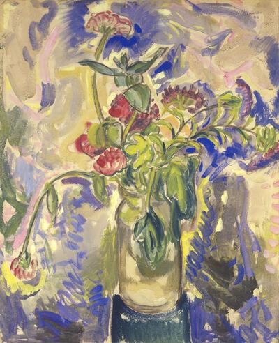 Alfred H. Maurer, 'Blue Flowers', 1926