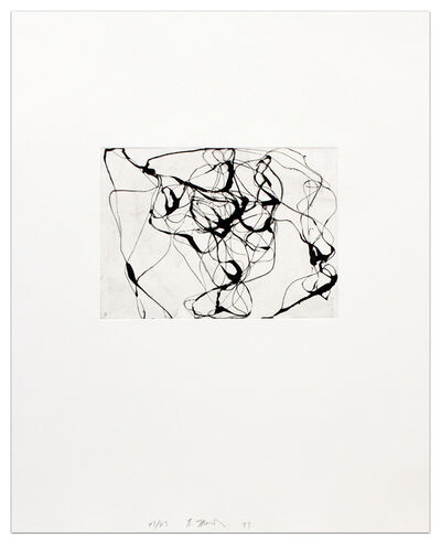 Brice Marden, 'After Botticelli IV'