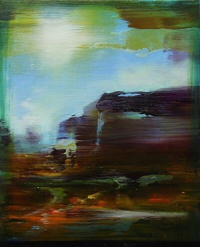 Edouard Wolton, 'Paysage rêvé Canyonland', 2018