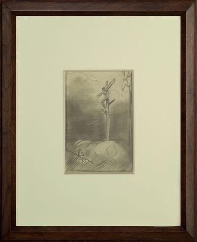 Edward Hopper, 'Crucifixion', ca. 1900