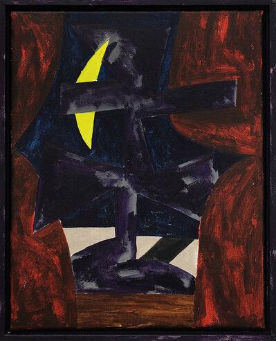 Jordy van den Nieuwendijk, 'Figure With Curtains', 2016