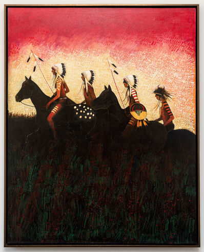 Kevin Red Star, 'Returning to the Camp - Crow Indians', 2016