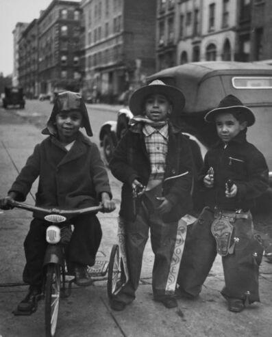 John Albok, 'Three Cowboys, Harlem', 1938