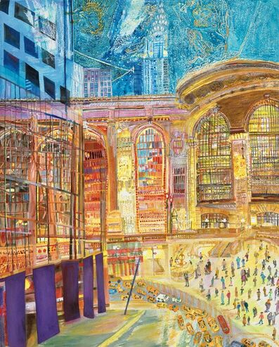 Olive Ayhens, 'Grand Central:Inside/Outside', 2012