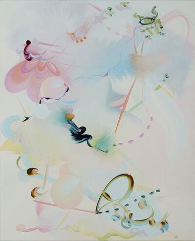 Fiona Rae, 'Melts into air', 2018