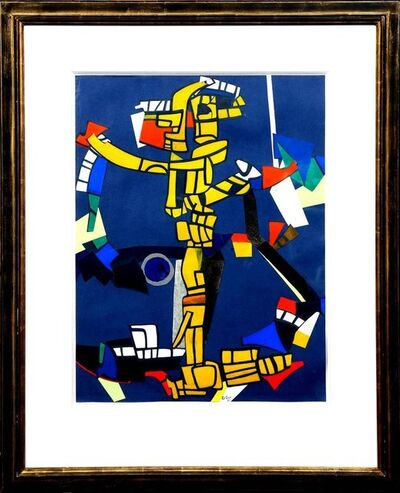"Maurice Estève, 'Oil on Canvas ""Torero"" by Maurice Estève', 1971"