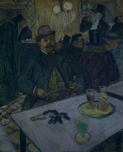 Henri de Toulouse-Lautrec, 'Monsieur Boileau at the Café', 1893