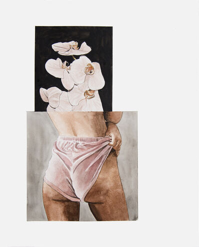 Léo Dorfner, 'You hit me with a flower', 2018
