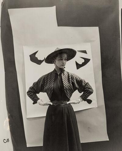 Cecil Beaton, 'Jean Patchett Against Cutout Backdrop, For 'Vogue', 1949', 1949