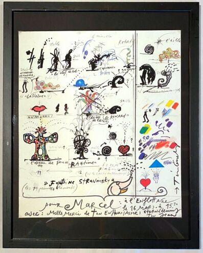 Jean Tinguely, 'La Fontaine de Stravinsky', 1983
