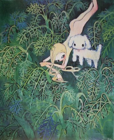 Aya Takano, 'THE TURKISH GRASSLANDS', 2002