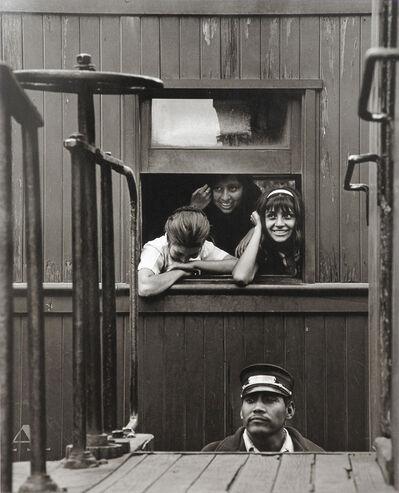 Rodrigo Moya, 'El garrotero, Tren viejo México-Cuautla', 1966