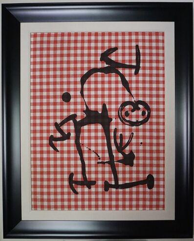Joan Miró, 'L'lletre aux Carreaux Rouges', 1969