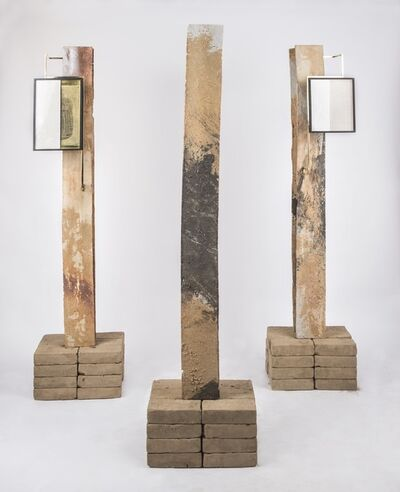 Ishmael Randall Weeks, 'Columna I, II, III', 2020