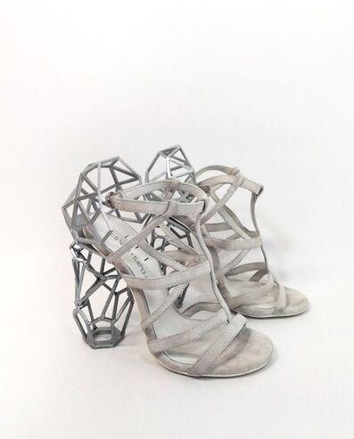 Iris van Herpen, 'Aeriform Shoes white', 2017