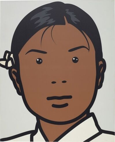 Julian Opie, 'Ainu, Masseuse', 2002