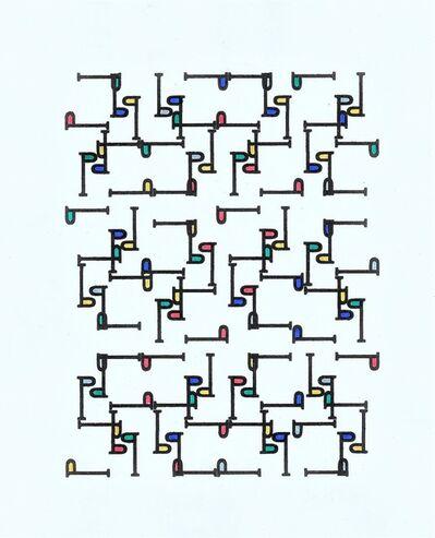 Tepeu Choc, 'Eccentric std', 2016