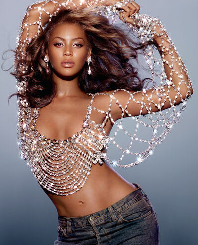 Markus Klinko, 'Beyonce, Dangerously In Love Album Cover', 2003
