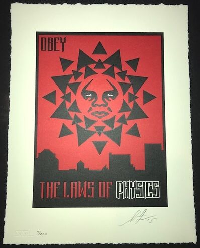 Shepard Fairey, 'Laws of Physics 97', 2015