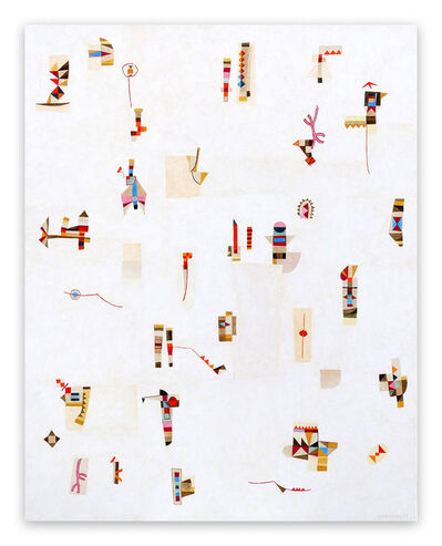 Jeremie Iordanoff, 'Confiture (Abstract painting)', 2019