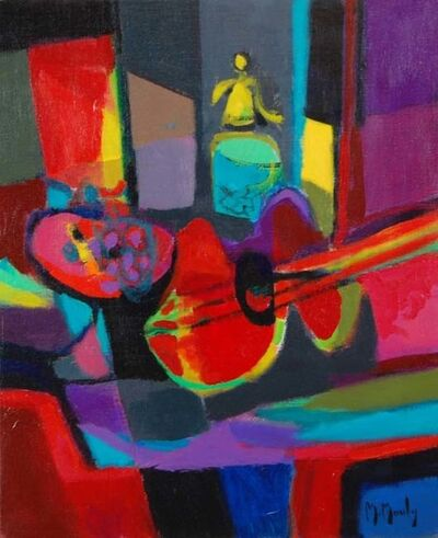 Marcel Mouly, 'Guitare et Siphon (Guitar and Siphon)', 1991