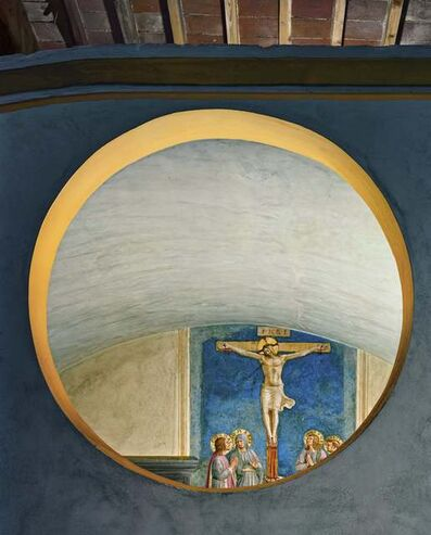 Robert Polidori, 'Crucifixion with the Virgin and Saints by Fra Angelico #1 Museum of San Marco Convent', 2010