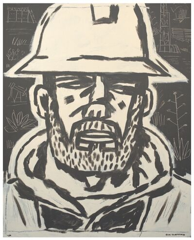 Jon Flaming, 'Roughneck, Pyote, Texas', 2014