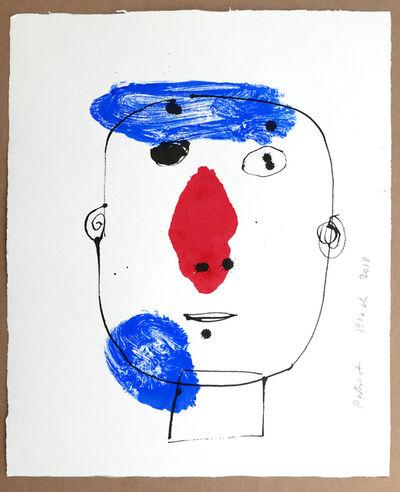 Serge Bloch, 'Portrait ', 2018