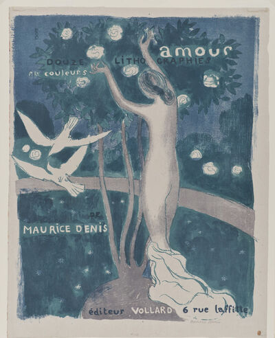Maurice Denis, 'Frontispiece to the album Amour', 1911