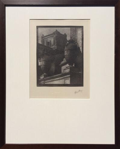 Sigismund Blumann, 'Towers and Urns', 1926