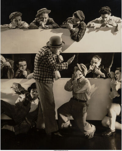 Edward Steichen, 'Borah Minevitch and his Harmonica Band for Vanity Fair', 1931