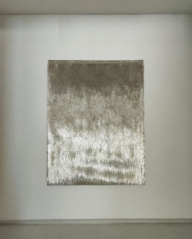 Renata Jakowleff, 'Daylight (Reflection painting, silver)', 2019