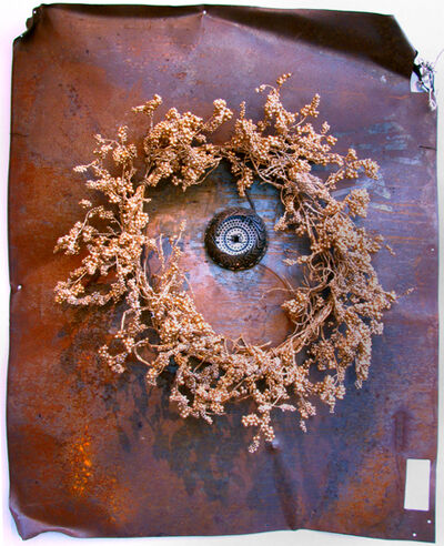 George Herms, 'Wreath', 2002