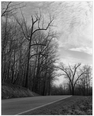 James Welling, 'Road near Morgantown, WV', 1993