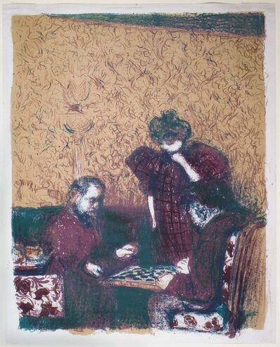 Édouard Vuillard, 'Le partie de dames (checkers)', 1898