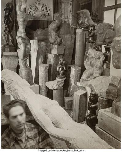 Berenice Abbott, 'Chaim Gross', 1945
