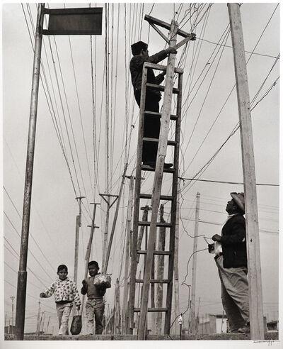 Rodrigo Moya, 'Luz robada, Ciudad Netzahualcóyotl, México', 1965