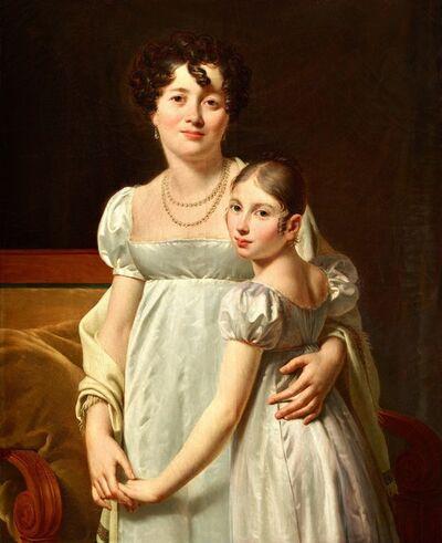 Louis-André-Gabriel Bouchet, 'Portrait of a Woman and her Child', 1810