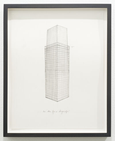 Roy McMakin, 'Untitled (an idea for a skyscraper)', 2013